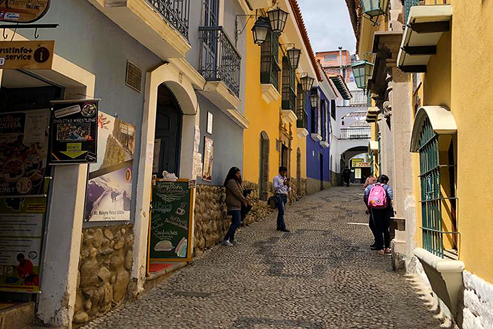 Things to do in La Paz - Visit the quaint Jaen Street